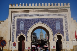 Entrance to the Medina in Fez, Morroco. This was built in 808