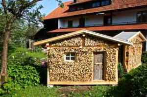 We see this type of wood storage everywhere along the way.