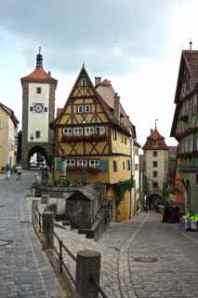 Most photographed picture of Rothenburg