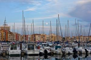 This is Cap d'Agde. We ate a great french meal at L'ami Louis. It was fabulous!