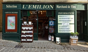 This place is filled with wine shops.