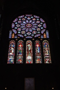 This is the called the Rose Window.
