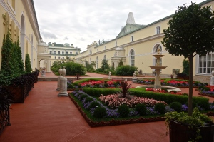 One of Gardens at the Winter Palace