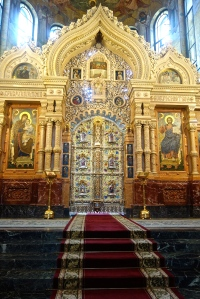 Interior of the Church of the Spilled Blood