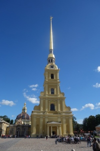 Peter and Paul Cathedral at the Fortress
