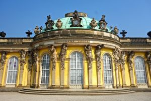 Close up of Sanssouci