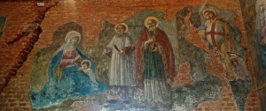 Painting on the inside of the Santa Casa Loreto