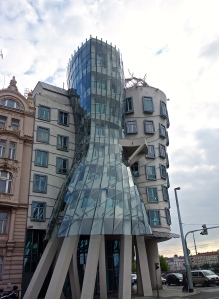 This is the dancing house from the left