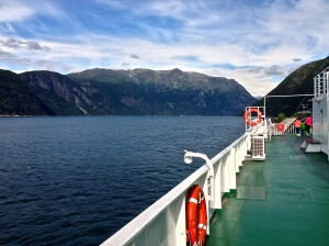 View from the Ferry Boat.
