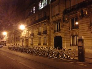 These bikes are everywhere for anyone to rent anytime!