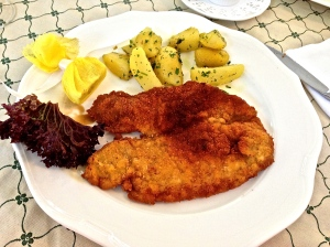 Ah.. Yeah... Schnitzel... perfect thinness