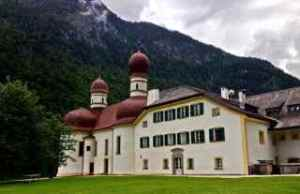 Back of St. Bartholoma on Konigssee