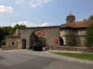 Entrance to Rothenburg