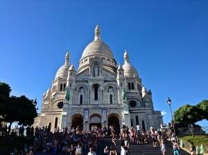 Sacre Couer - This is at the top of Montmartre.