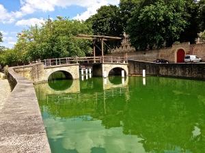 A very old draw bridge