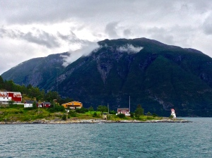Little village along the fjords.