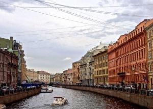 A canal street