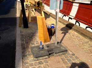 For some reason, Vodka is everywhere we are! Must be leftover from the workers restoring this boat!