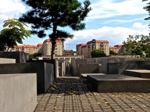 Different view of the Holocaust Memorial