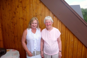 Rita and Aunt Lisel (her real name is Elizabeth)...