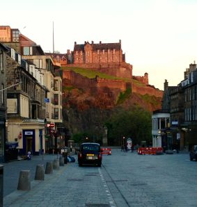We are looking at real estate in Edinburgh. What do you think about the Castle of Edinburgh?