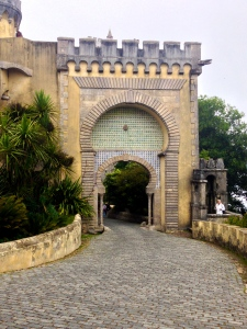 Entrance to the Pena Palace/Castle