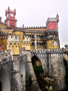 Pena Palace in Sintra. This place was amazing. I could post an album of the pictures here. It had the original furniture in most of the rooms.
