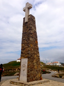 Cabo da Roca - same latitude as New York City. 8000 miles away - closest point to US from Europe