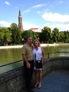 Enjoying the Landshut scenery