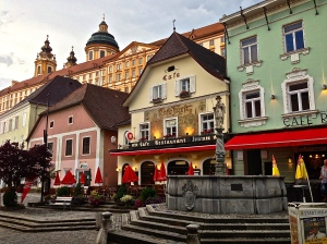 Streets of Melk - pretty place