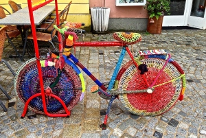 A crocheted bike???