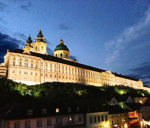 Arrived late in the afternoon, raining, and afterwards it was beautiful. Stift Abbey - Melk