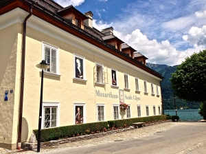 Mozarts sisters home in St. Gilgen