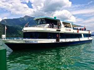 Our boat we took from St. Wolfgang to St. Gilgen. Nice ride.