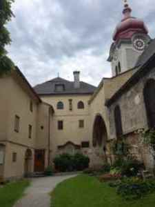 The Nonnberg Abbey.. Where Maria came from.