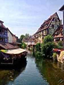 Scenery along the way in Colmar