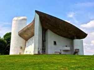La Chapelle de Ronchamp Notre Dame du Haute in Ronchamp, France