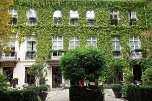 Our hotel in Place de Vosges