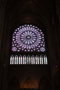 "This is ""THE ROSE"" window. Picture doesn't do this justice, though."