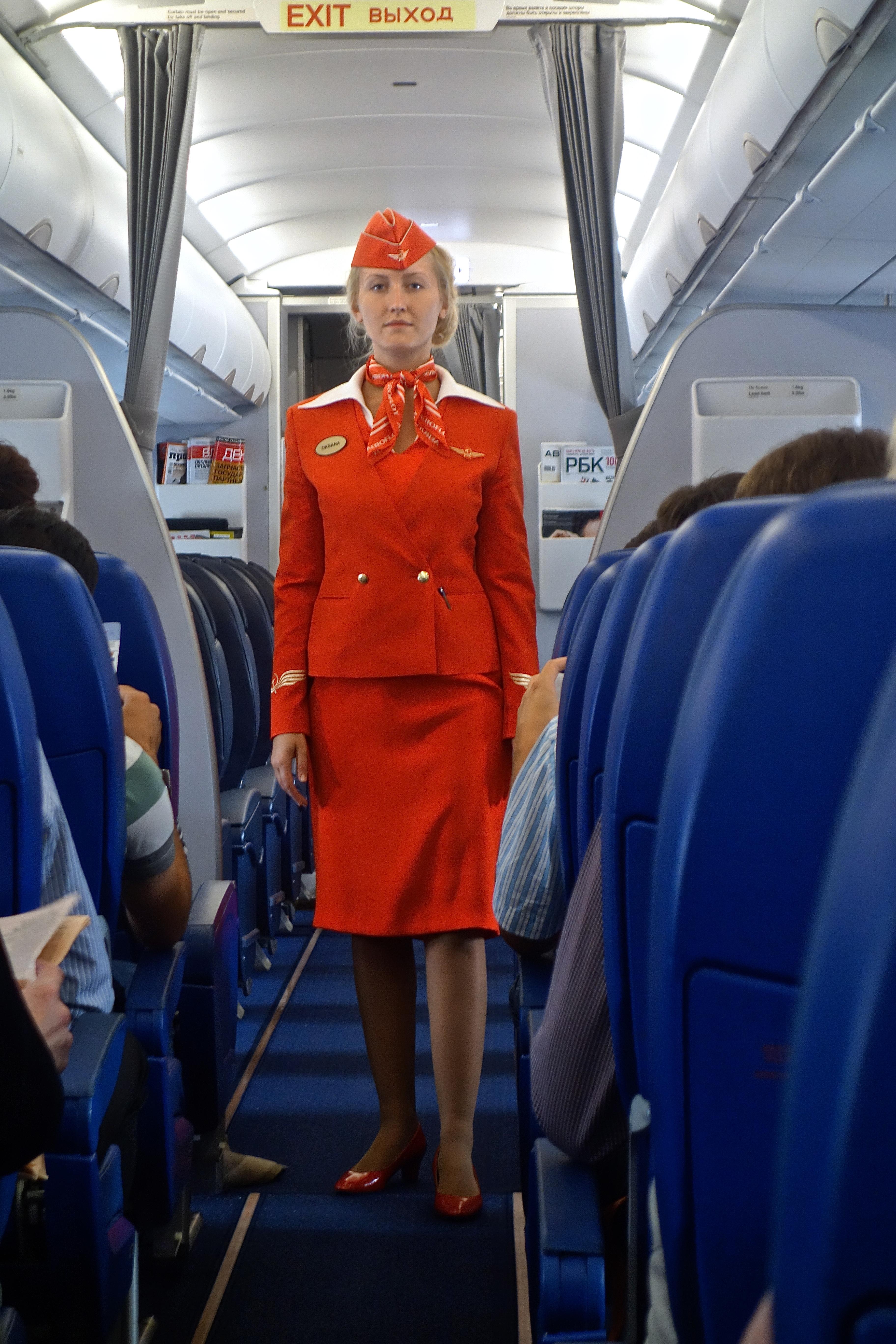 aeroflot attendant Image