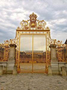 Front gate of Versailles