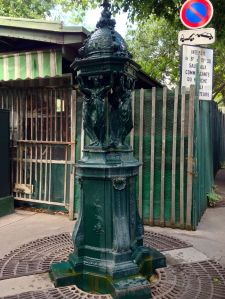 Paris Water Fountain