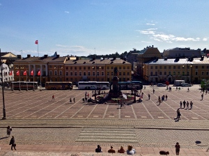 Senate Square in Helsinki