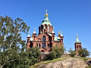 Uspenski Cathedral, Largest orthodox church in western Europe.