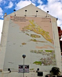 Just in case you don't know where Split, Croatia is, enlarge this and take a look at this map.