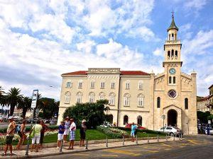 A small simple church in Split
