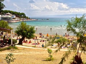 One of Split's beaches