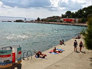 """Another beach in Split, for those of you who like to be on the """"Edge""""!"""