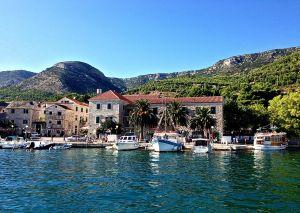 View of Bol, Croatia