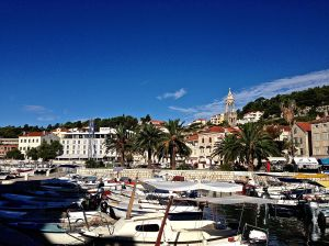 More of Hvar's harbor